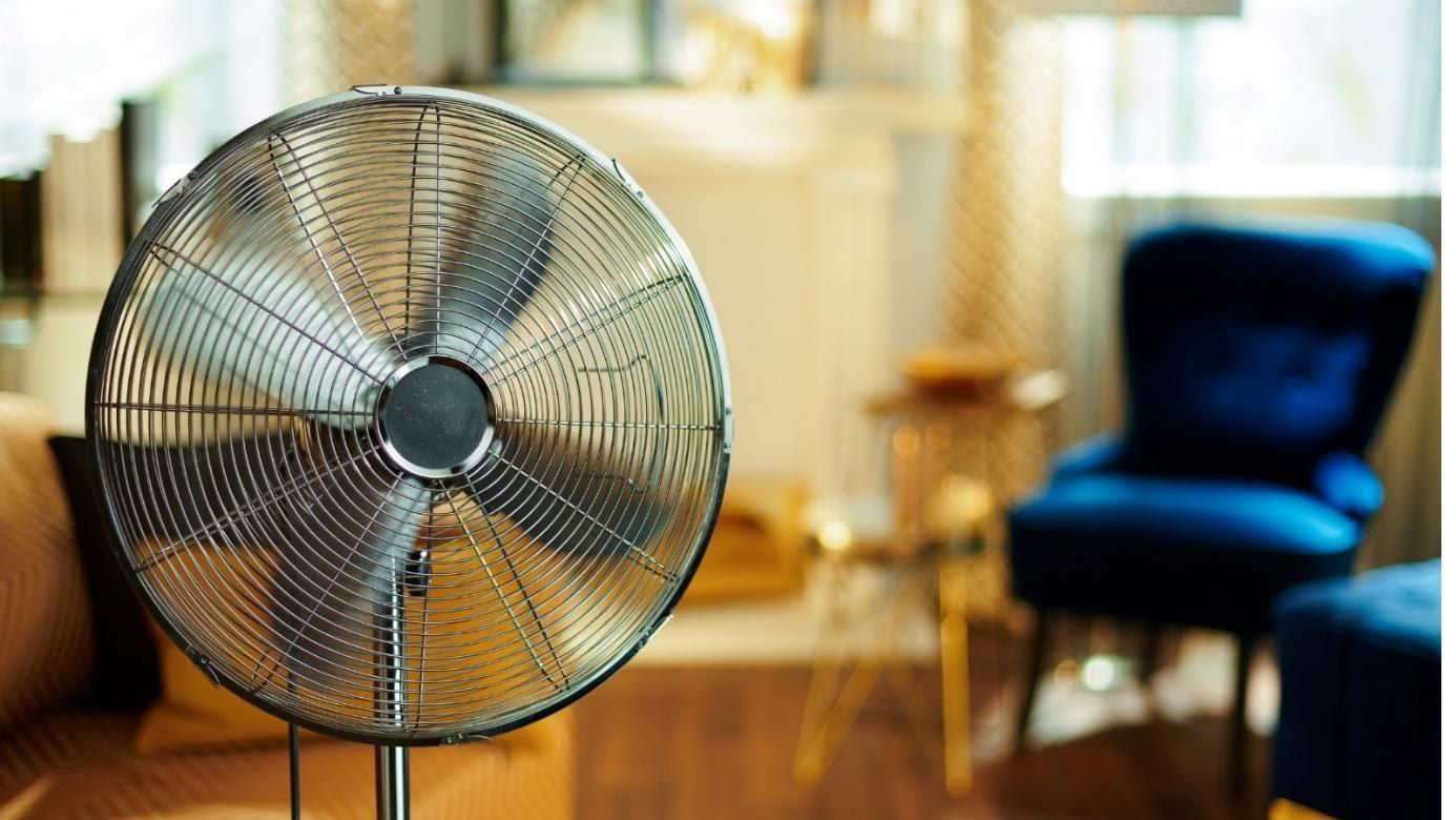 ventilator in kamer