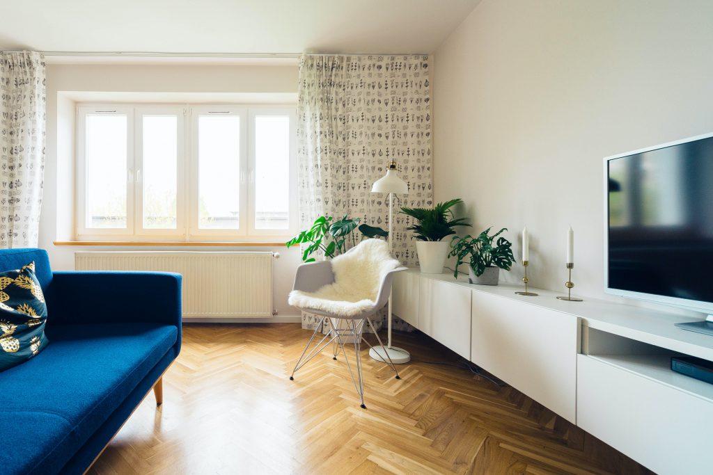 woonkamer energie besparen